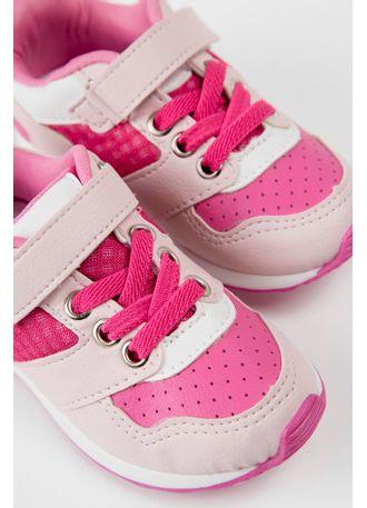 132f6eb8dd Tênis Infantil Camim Menina Pink - pittol