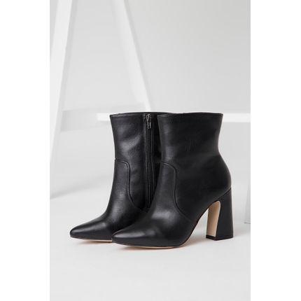 Bota-Ankle-Boots-Lia-Line-Couro-Lisa-Preto