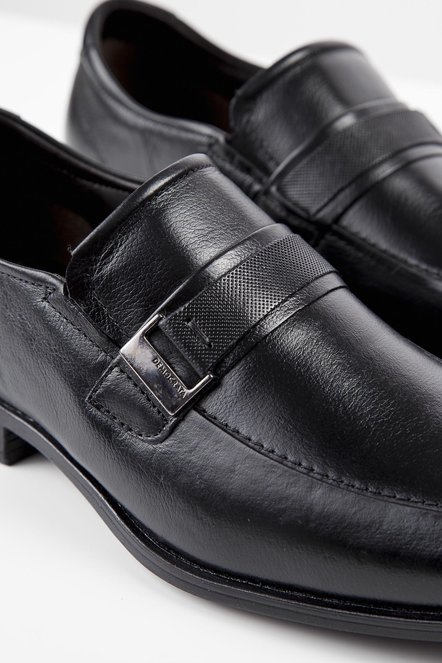 Sapato-Democrata-Social-Masculino-Flex-Couro-Preto
