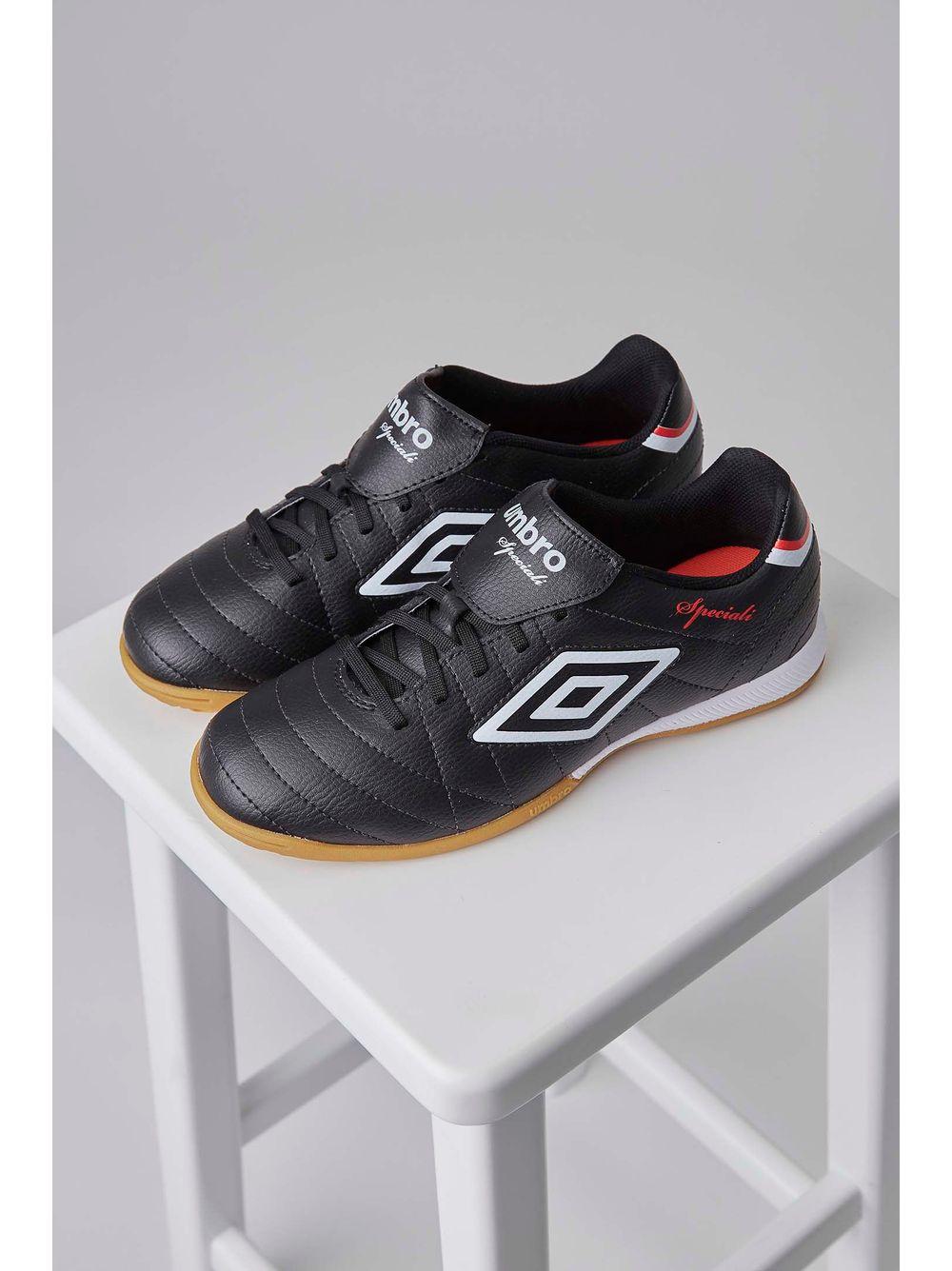 0ecefe12d8 Tênis Futsal Footwear Umbro Speciali Ii Club 0f72089 Preto - pittol