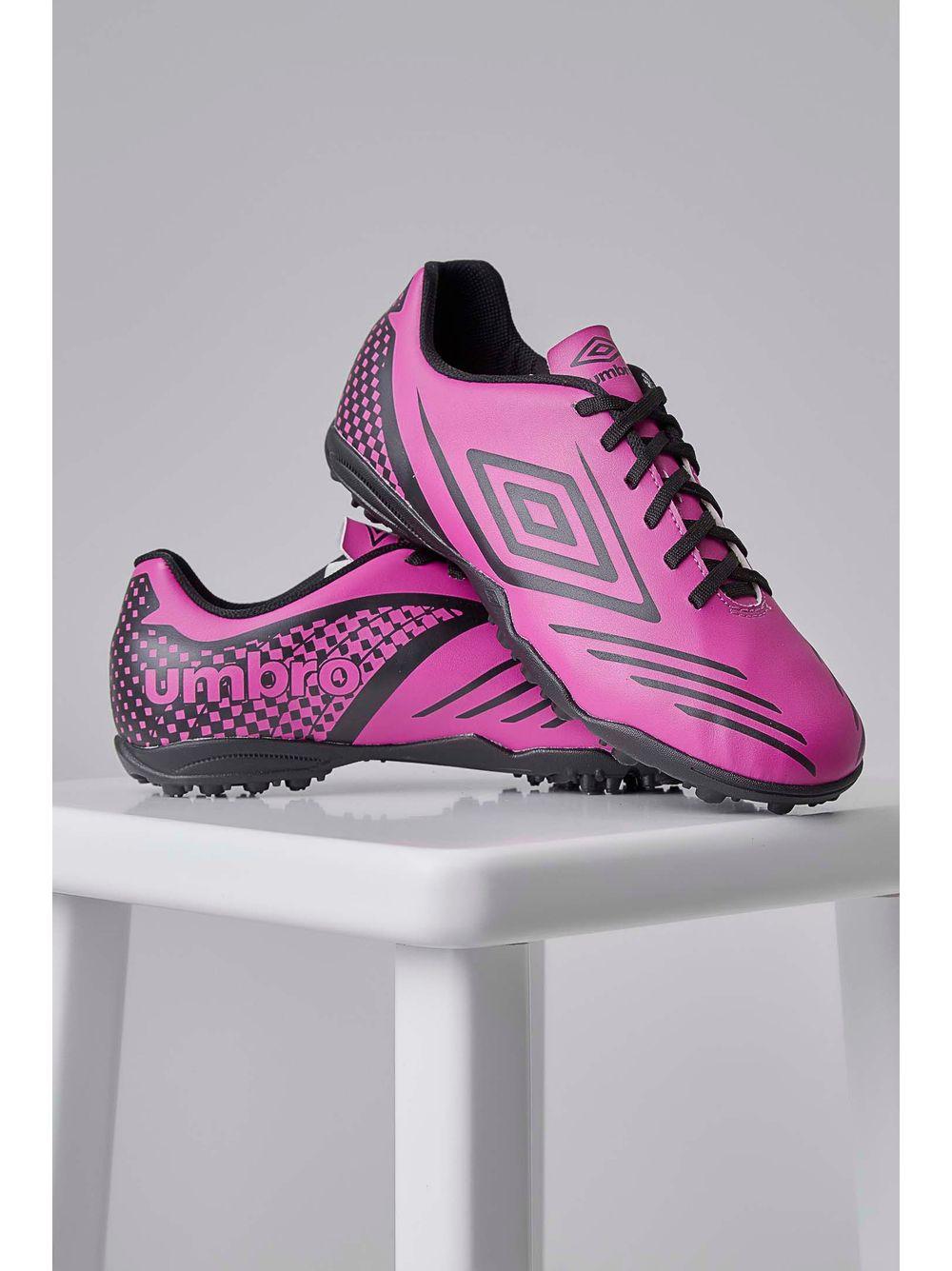 d719e94f22 Chuteira Society Soccer Shoes Umbro Guardian 0f71081 Pink - pittol