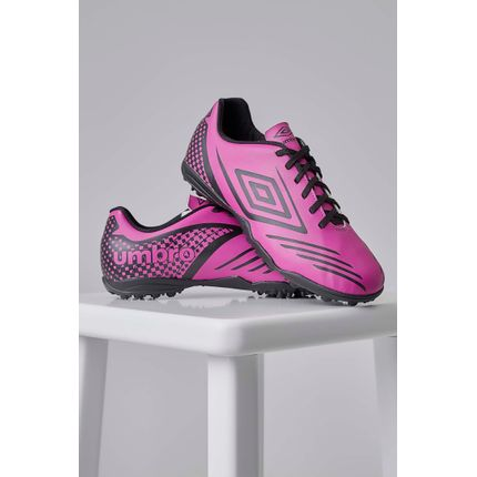 Chuteira-Society-Umbro-Guardian-Pink-