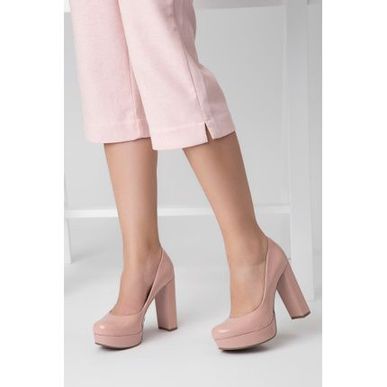 Sapato-Bebece-Verniz-Meia-Pata-Rosa-Claro