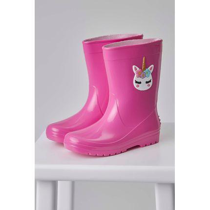 Bota-Galocha-Luaelua-Unicornio-Infantil-Menina-Pink