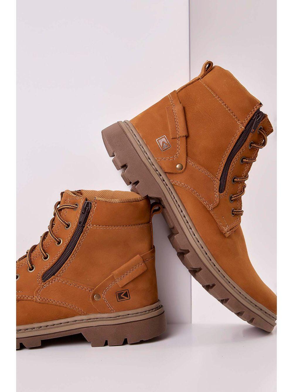 c89564de43 Bota Boots Company Couro Masculino Marrom - pittol