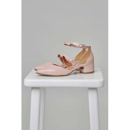 Sapato-Casual-Renata-Mello-Bico-Fino-Rosa