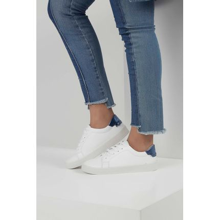 Tenis-Via-Uno-Casual-Logo-Metalizada-Branco