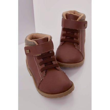 Bota-Coturno-Ortope-Baby-Boot-Velcro-Castanho