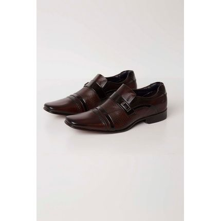 Sapato-Social-Rafarillo-Couro-Aplique-Metalizado-Marrom-