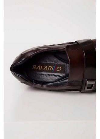 3d6eb4b3ee Sapato Social Rafarillo Couro Aplique Metalizado Marrom - pittol