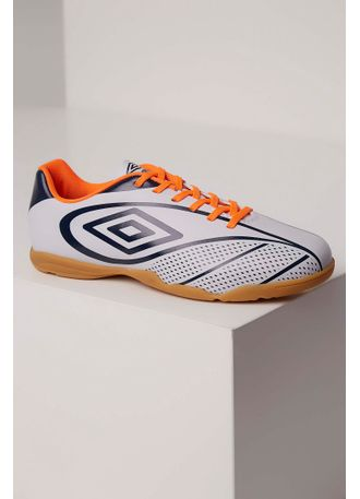 Chuteira Umbro Fury Futsal Branco - pittol 09681565018be
