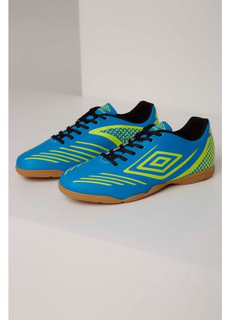 Chuteira Futsal Umbro 0f72095 Azul - pittol 380e3b56daf5d