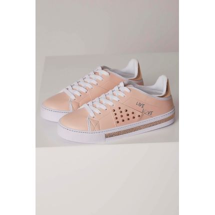 Tenis-Casual-Addan-Strass-Rosa