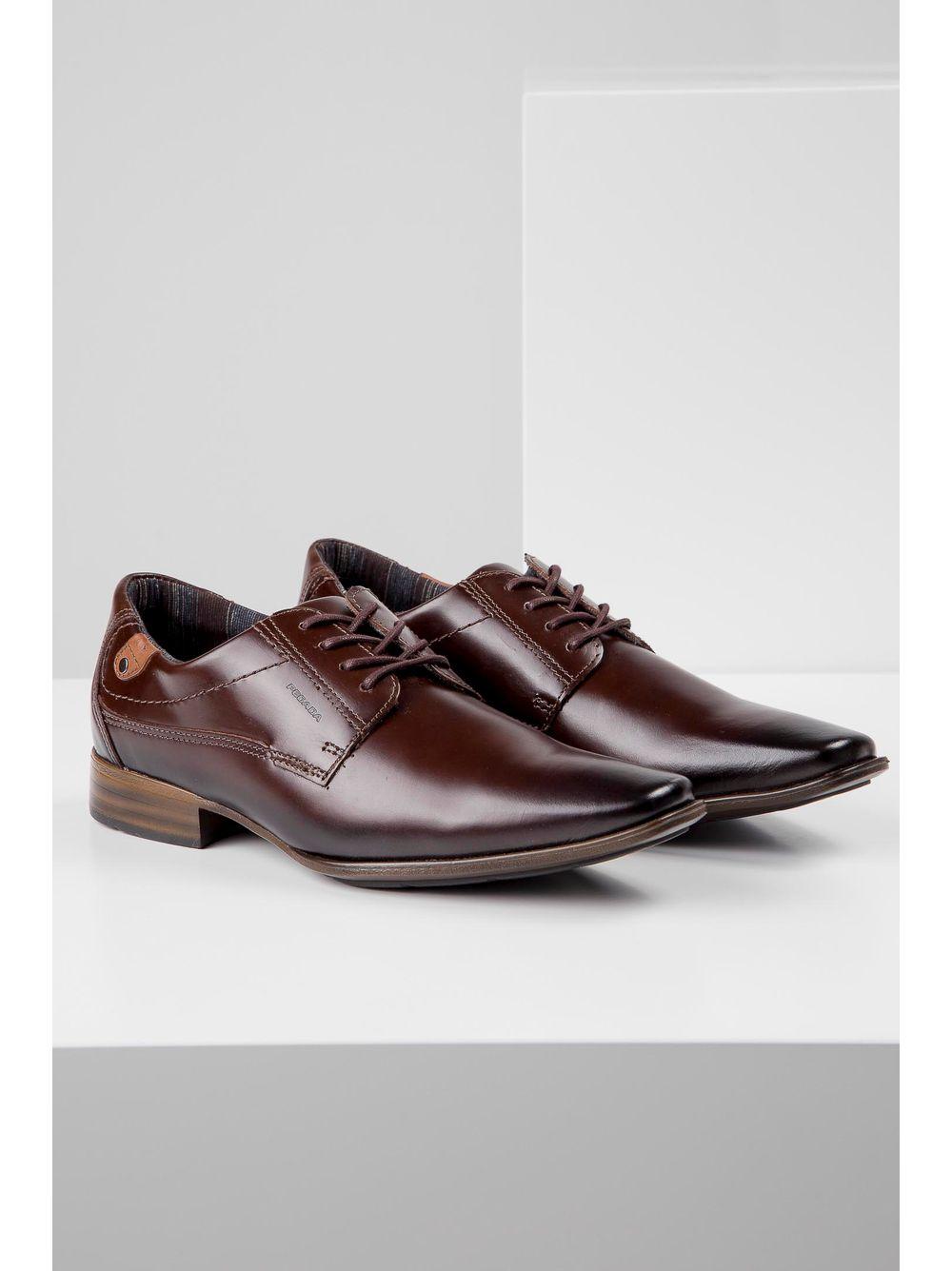 fc68b1accd1 Sapato Pegada Social Cadarço Preto - pittol