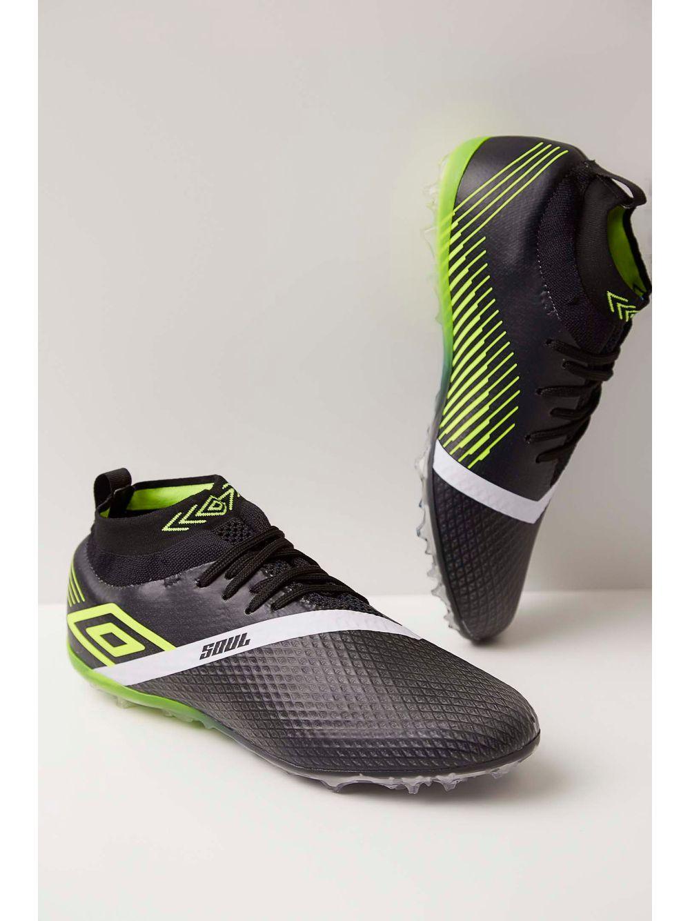 448f80f037 Chuteira Society Soccer Shoes Umbro Soul Knit 0f71094 Preto - pittol