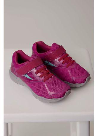 73db01e332b Tênis Klin Step Flex Infantil Menina Pink - pittol