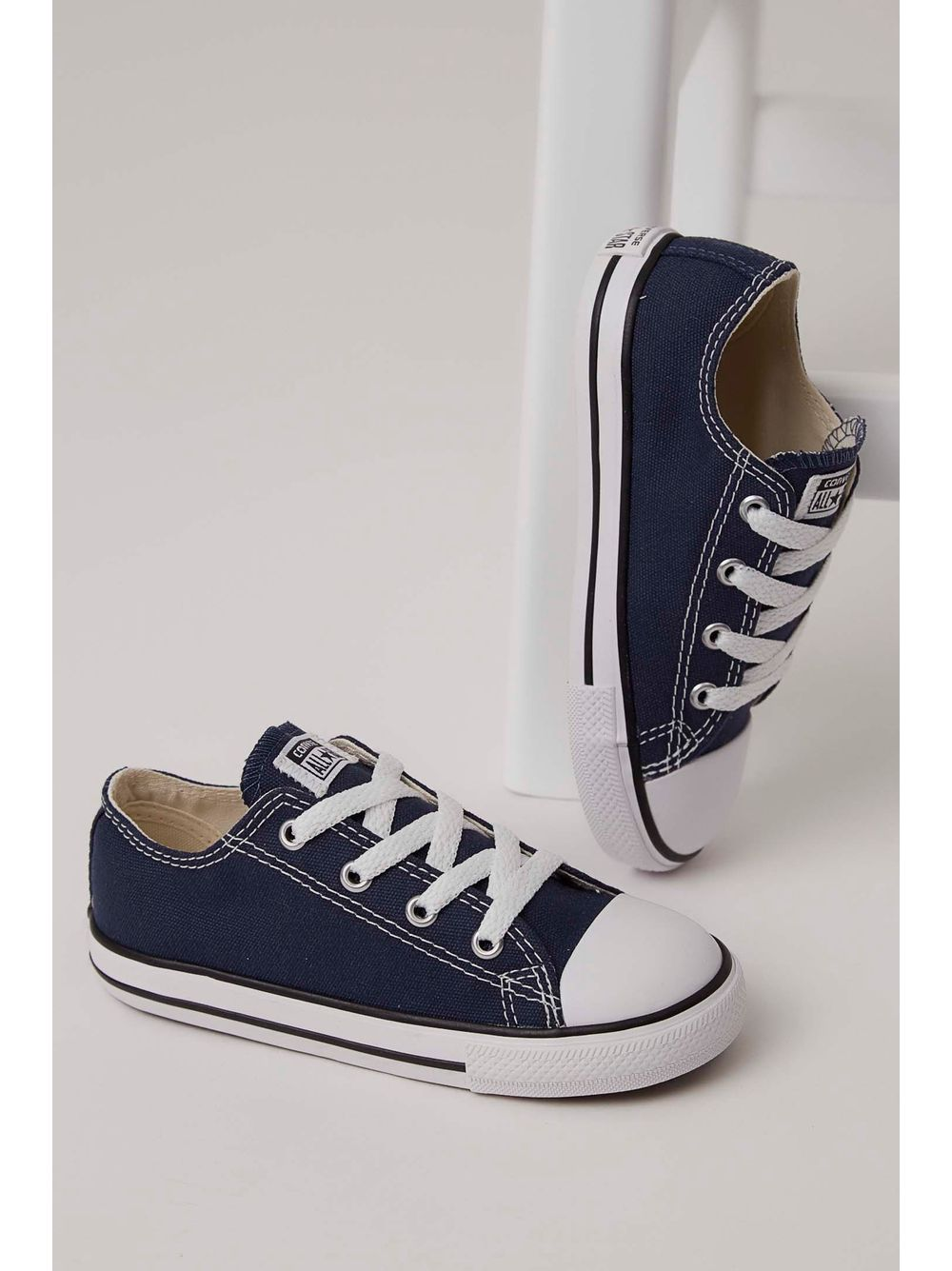 b493fed9996 Tênis Casual All Star Converse Infantil Marinho - pittol