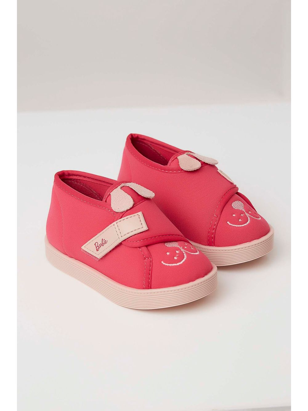 ead6a419ed Tênis Grendene Barbie Fashion Pets Infantil Menina Pink - pittol