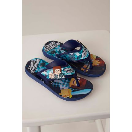 Chinelo-Grendene-Authentic-Games-Azul