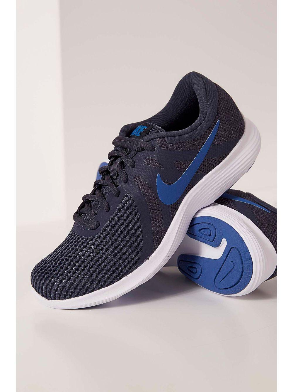 b738364858b Tênis Nike Revolution 4 Texturizado Marinho - pittol
