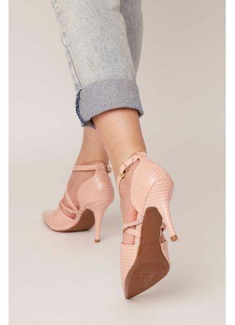 e9399af60e Sapato Scarpin Vizzano Verniz Fivela Rosa - pittol