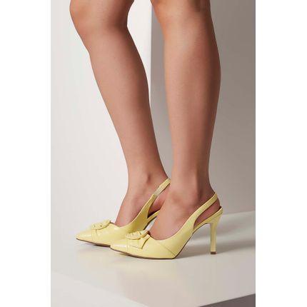 Sapato-Chanel-Vizzano-Amarelo