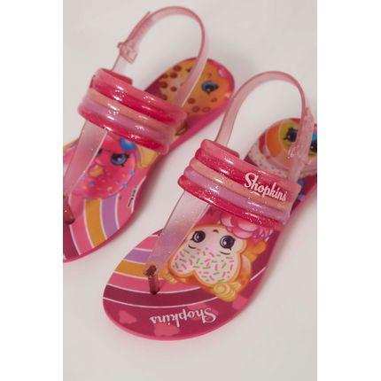 Sandalia-Grendene-Shopkins-Colorfull-Pink