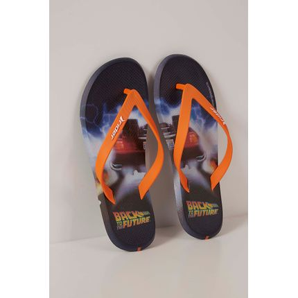Chinelo-Dedo-Rider-Back-To-The-Future-Laranja-