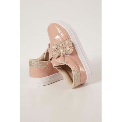 Tenis-Casual-Fuffy-Flor-Nude