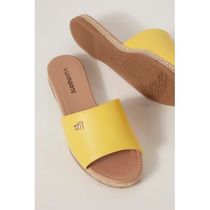 Chinelo-Slide-Via-Marte-Amarelo-