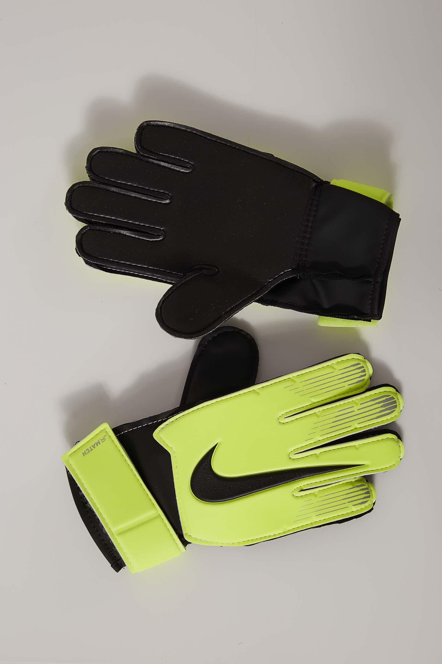 Luva-De-Goleiro-Junior-Nike-Match-Goalkeeper-Amarelo