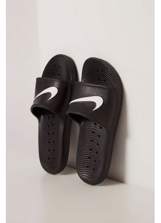 c680aff4ee0d7 Chinelo Slide Nike Kawa Shower Preto - pittol