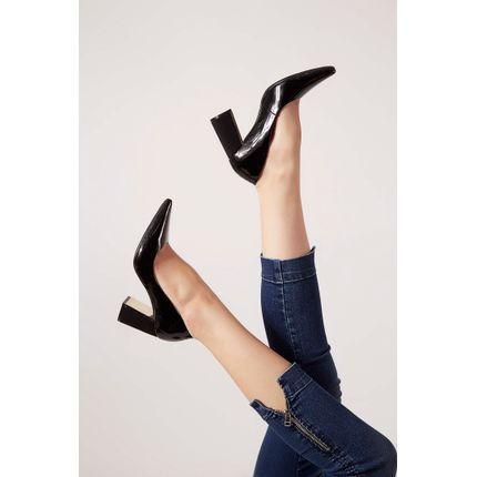 Sapato-Bebece-Verniz-Salto-Grosso-Metalizado-Preto