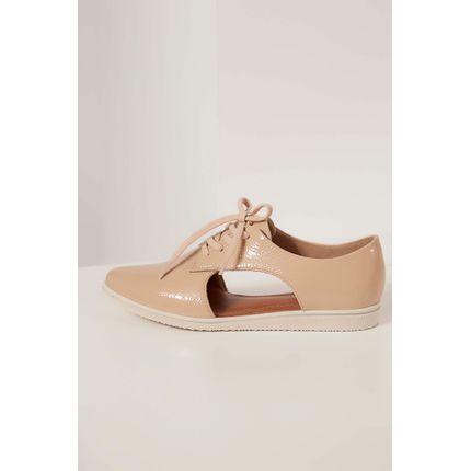 Sapato-Oxford-Usaflex-Bege