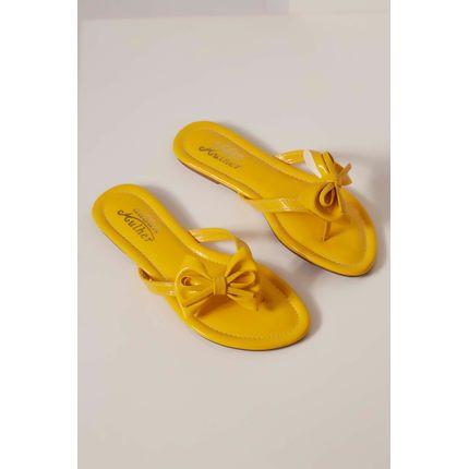 Chinelo-Rasteira-Addan-Amarelo