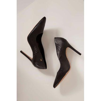 Sapato-Scarpin-Verofatto-Texturizado-Preto