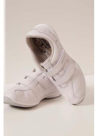 Tênis Kolosh Casual Velcro Strass Branco - pittol e4669df206a3c