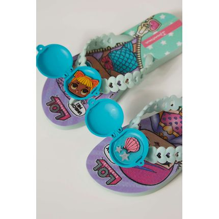 Chinelo-Infantil-Ipanema-Lol-Surprise-Verde