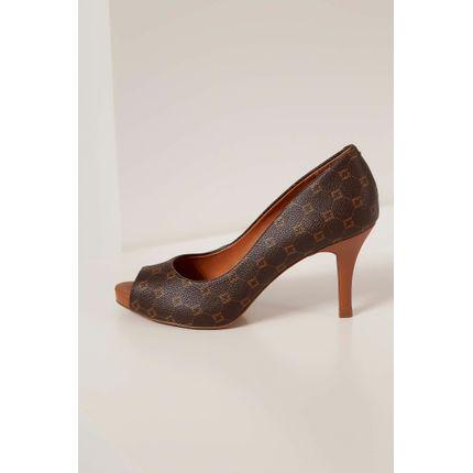 Sapato-Feminino-Luz-Da-Lua-Monograma-Marrom