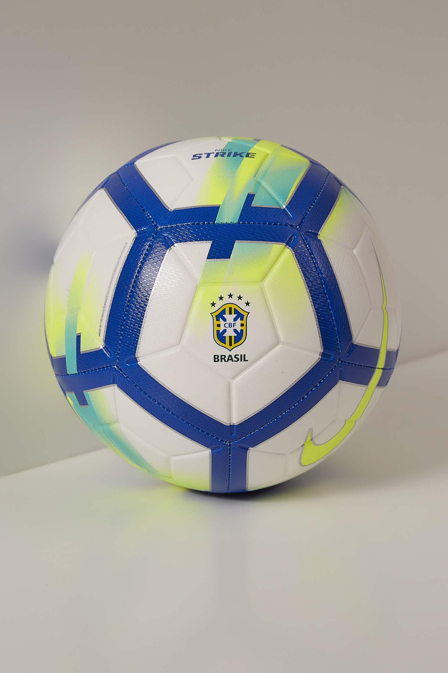 Bola-Futebol-Unissex-Brasil-Cbf-Strike-Branco