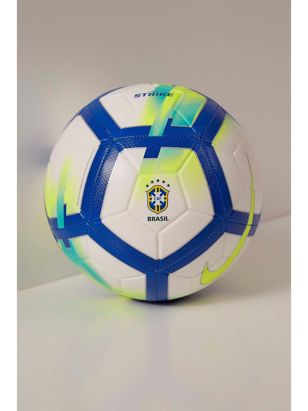 Bola Nike Sc3209 Futebol Unissex Brasil Cbf Strike Branco - pittol 111ace971dd85