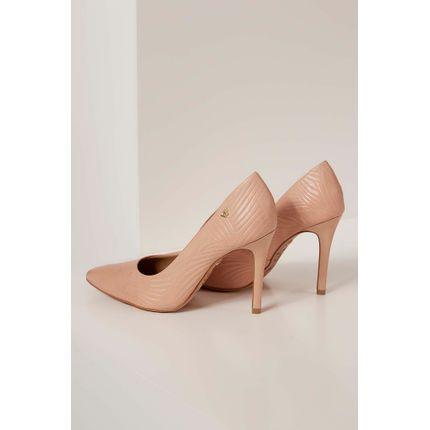 Sapato-Scarpin-Verofatto-Texturizado-Nude