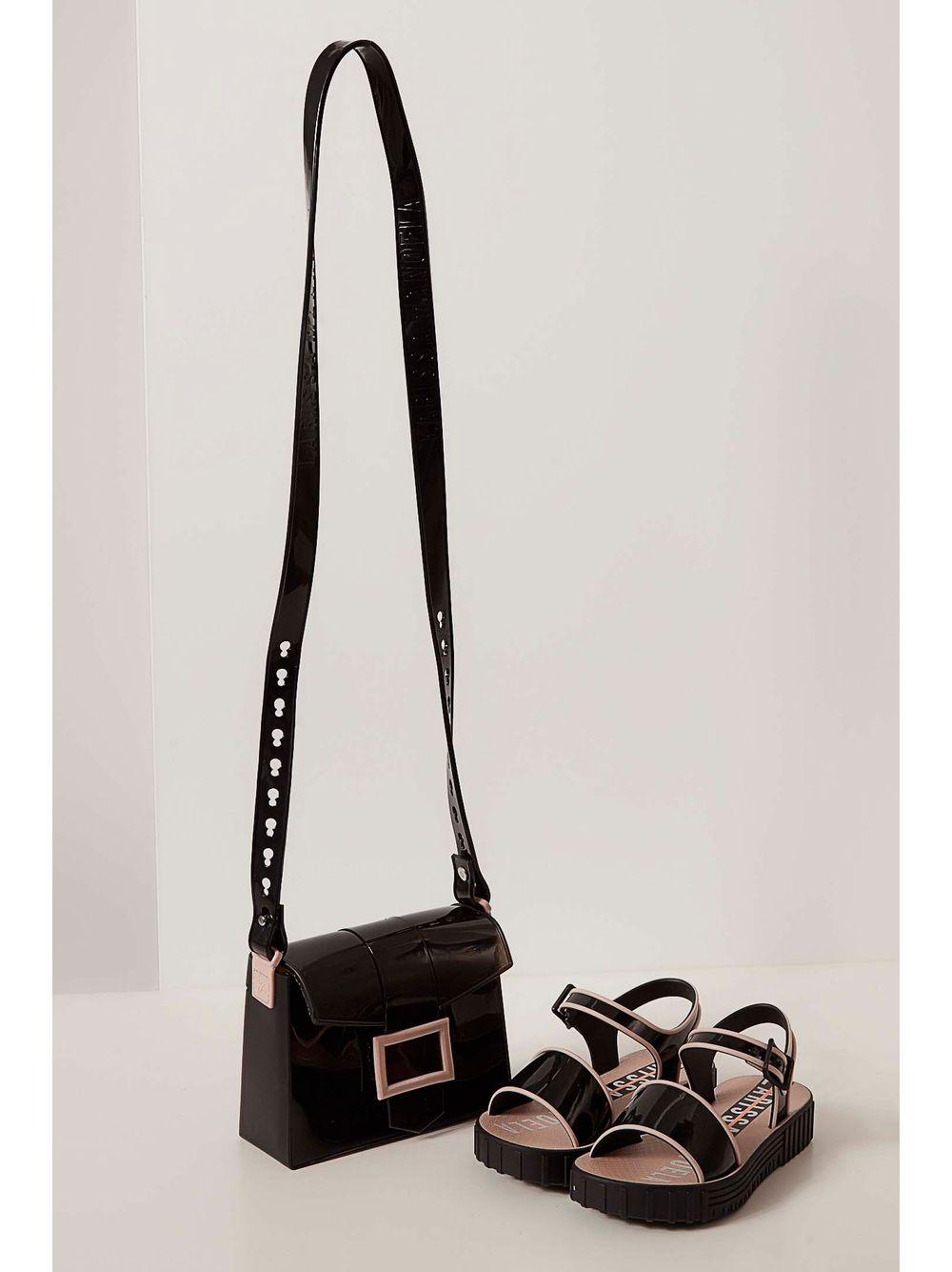 c030893328 Sandália Infantil Grendene Larissa Manoela Fashion Bag Preto - pittol