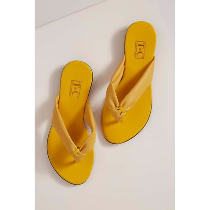 Chinelo-Rasteira-Redak-Amarelo-