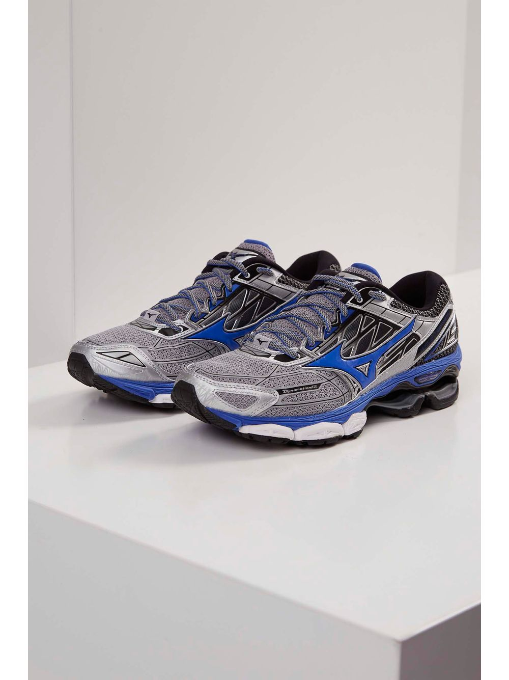 e66697635b Tênis Corrida Mizuno Wave Creation 19 Prata - pittol
