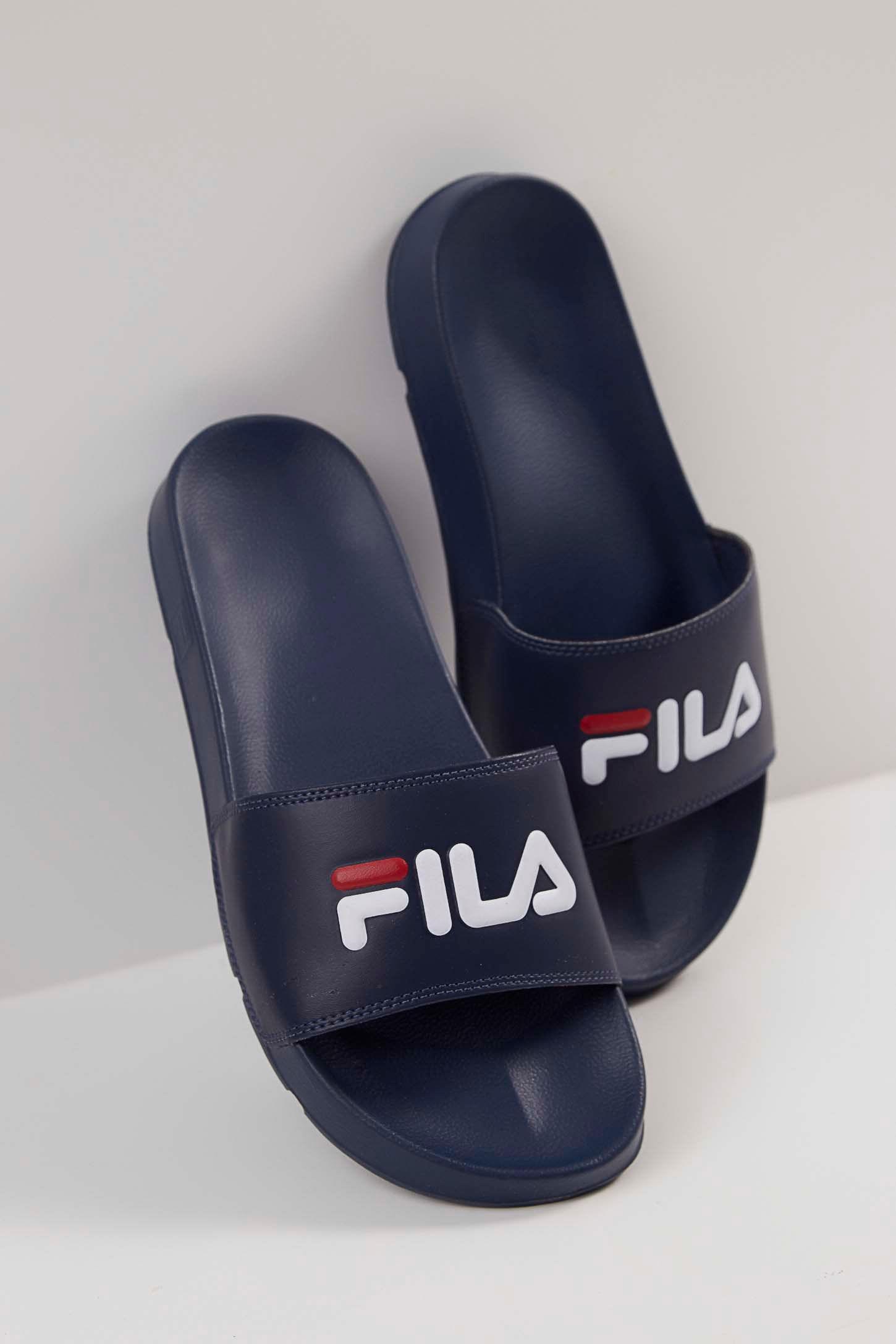 Chinelo-Slide-Fila-Drifter-Basic-Marinho-