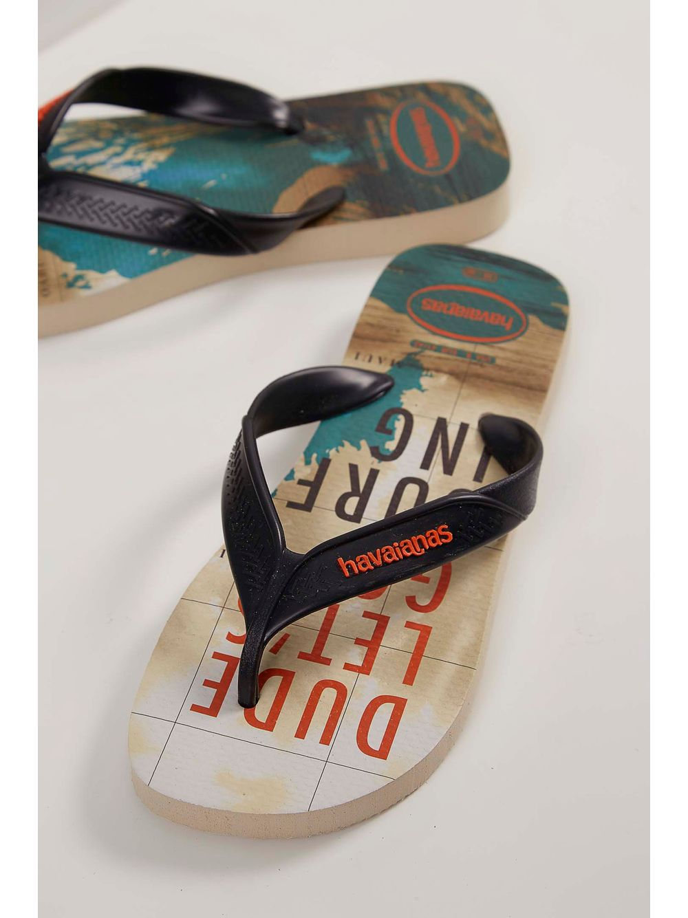 82c0103ee Chinelo Havaianas Surf Masculino Bege - pittol