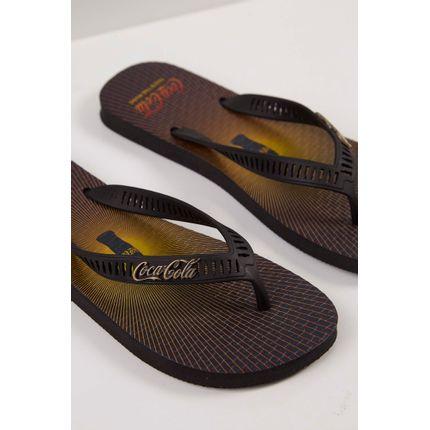 Chinelo-Coca-Cola-Masculino-Preto-
