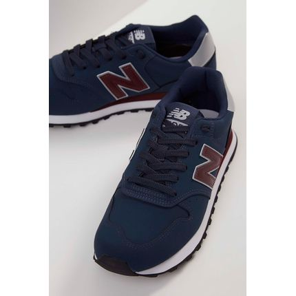 Tenis-Casual-New-Balance-GM500-Bordo-
