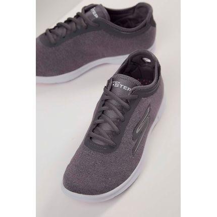 Tenis-Skechers-Go-Step-Feminino-Cinza-